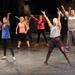 Choreografie na prvním kole konkursu Fantoma Opery